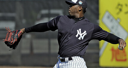 MLB shift? Yankee pitcher gets 30-game suspension for domestic violence. (+video)