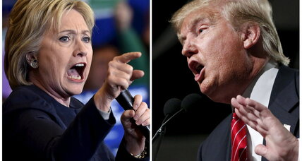 Trump vs. Clinton: Will Trump's bullying tone backfire? (+video)