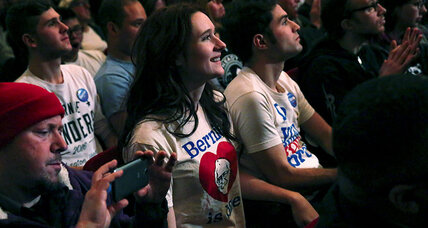 The unseen side of Bernie Sanders's young voter revolution (+video)