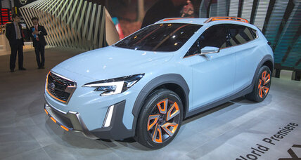 Subaru XV crossover concept previewed at Geneva Motor Show