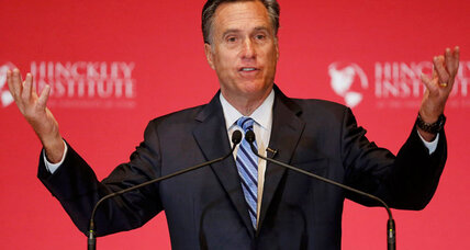 Did Mitt Romney just preview Democrats' anti-Trump plan? (+video)