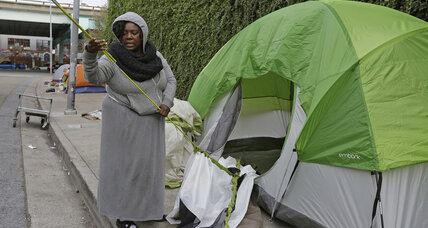 Denver to evict homeless from makeshift camps