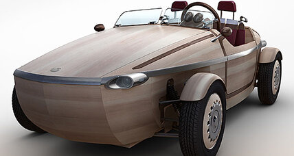 Why Toyota made an electric car out of wood