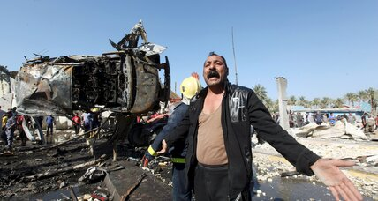 Iraq: Suicide attack kills at least 47 south of Baghdad