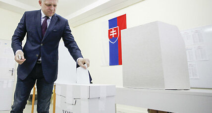 In Slovakia, a 'fascist'-led party gains seats