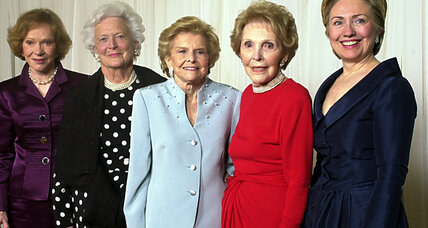 Nancy Reagan put her own spin on the power of the first lady