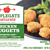 Applegate Farms recalls 4,530 pounds of chicken nuggets with plastic shards