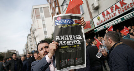Takeover of top Turkish paper seen as presidential power play