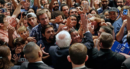 What Sanders's stunning upset, Trump's win in Michigan mean (+video)