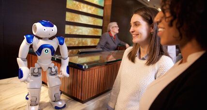 Hilton Hotels tries out a robot concierge