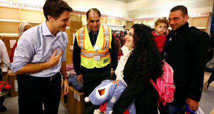 Why Canada embraces Syrian refugees, while US is still wary
