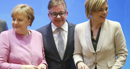 Merkel faces strong challenge from German nationalist party