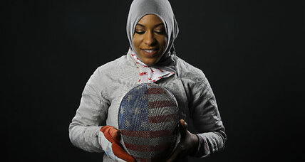 Meet the first Muslim-American to compete at Olympics in hijab