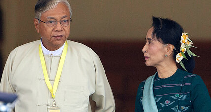 Long-time confidant of Aung San Suu Kyi elected president in Myanmar