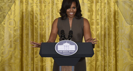 Michelle Obama creates song to aid young women's education