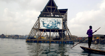 Floating school on a lagoon brings hope to Nigeria's slum-on-stilts
