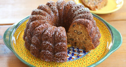 Morning glory coffee cake