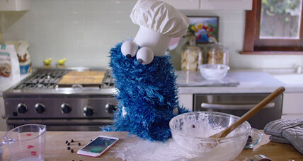 Cookie Monster makes iPhone commercial. Are Muppets selling out?