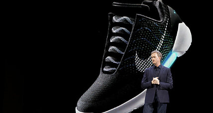 Nike's self-lacing shoes: Another product born of innovation (+video)