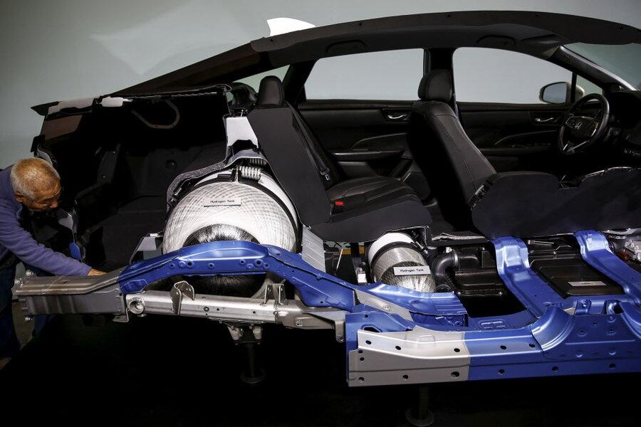 Gm Honda Partner To Produce Hydrogen Fuel Cells In