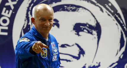 NASA astronaut Jeff Williams blasts off into history