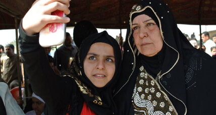 Islamic State: How Iraqi widow's resistance became a symbol of hope