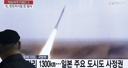 Defiant North Korea launches missile capable of reaching Japan
