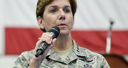 Who is the first woman to head a US combatant command?