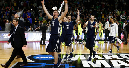 March Madness: Upsets and resilience rule first day of NCAA tournament
