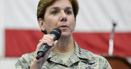 Another Pentagon gender barrier falls as Air Force general makes history