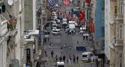 Suicide bomb attack in Istanbul kills 5, wounds dozens