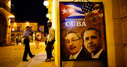 As Obama visits Cuba, signs of a shift back home