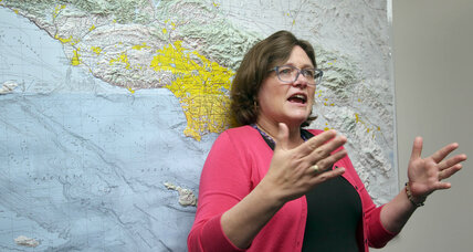 Earthquake expert retires. Who is Lucy Jones?