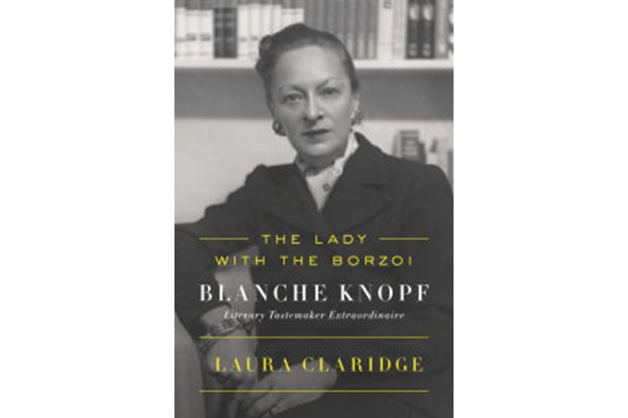 The Lady With The Borzoi Profiles Publishing Legend Blanche Knopf