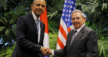 Cuba's Raul Castro asks Obama to lift US trade embargo