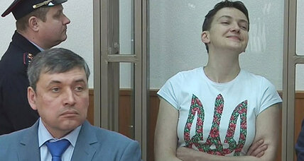 Ukraine's 'Joan of Arc' pilot sentenced to 22 years in Russian prison