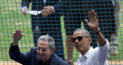 Baseball brings US, Cuba together in diplomatic milestone