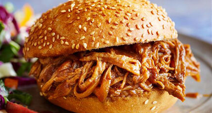 Spiced apple pulled pork
