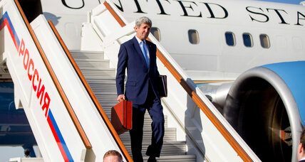 US-Russia thaw? Kerry arrives in Moscow for Syria talks