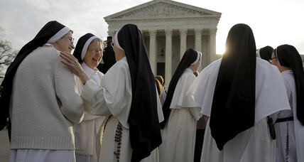 In Supreme Court case, potentially big shift on religious freedom