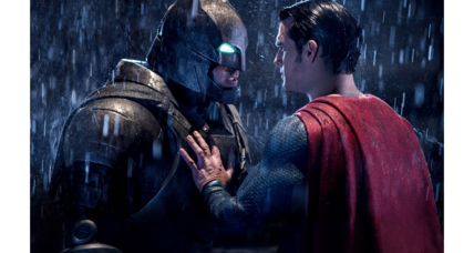 'Batman v Superman' is heavy and humorless