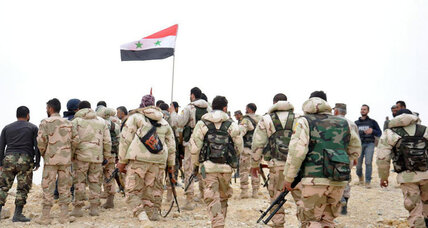 Syrian forces drive Islamic State out of Palmyra