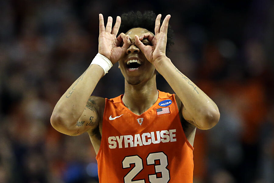 2016 Ncaa Tournament How Syracuse Got To The Final Four Csmonitor Com