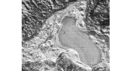 Did Pluto once have nitrogen lakes and rivers?