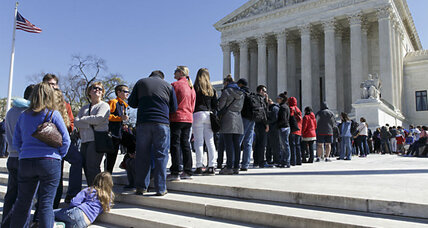 Court without Scalia: Labor unions survive bid to remove dues requirement (+video)