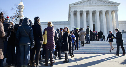 In key test for public-sector unions, Supreme Court hits 'pause'