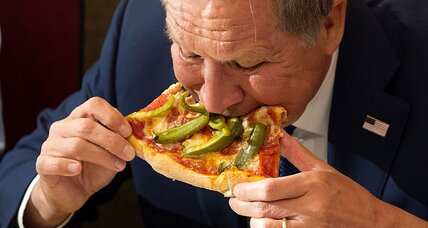 John Kasich and the politics of pizza: Why do voters care about a 'little fork'?