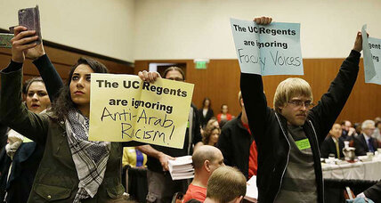 University of California push against anti-Zionism: overdue or inappropriate?