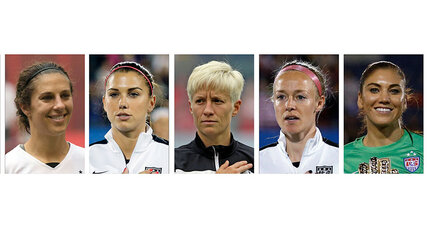 Lesser pay for better work? US women's soccer stars say so.