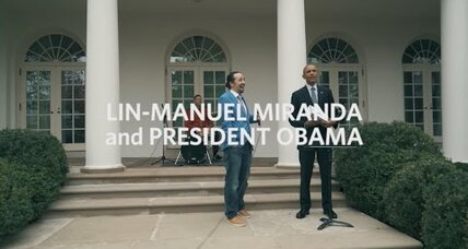 Lin-Manuel Miranda performs with Obama: How his musical made Alexander Hamilton popular